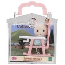Sylvanian Families Rabbit On Chair Baby Carry Case