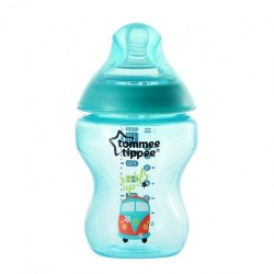 Tommee Tippee Closer To Nature Tinted Bottle 260ml/9oz- Jade Green (1 Pack)