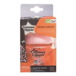 Tommee Tippee Closer To Nature Pesu Bottle 150ml/5oz - Girl ( 1 pack)