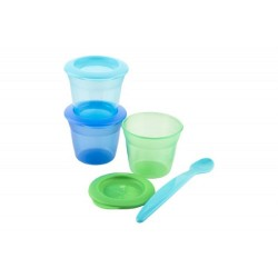 Tommee Tippee Essential Food Pot (Pack of 3)