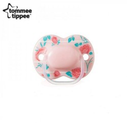 Tommee Tippee Little London Soother 0-6 Months - pink (1 Pack)