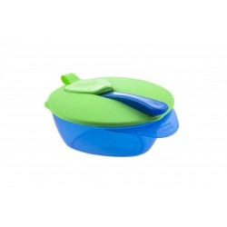 Tommee Tippee Explora Easy Scoop Feeding Bowls (7 Months+) - Green