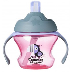 Tommee Tippee First Straw Cup 150ml/5oz - Pink (1 Pack)