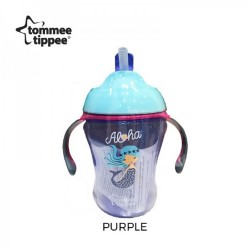 Tommee Tippee Easy Drink Straw Cup 230ml/8oz - Purple (1 Pack)