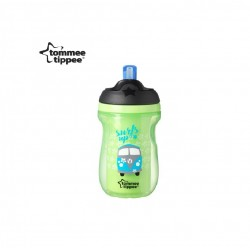 Tommee Tippee Insulated Straw Cup 260ml/9oz - Green (1 Pack)