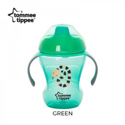 Tommee Tippee Easy Drinking Cup/Training Sippee Cup 230ml/8oz - Green (1 Pack)