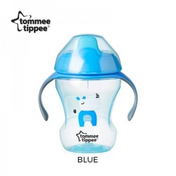 Tommee Tippee Easy Drinking Cup/Training Sippee Cup 230ml/8oz - Blue (1 Pack)