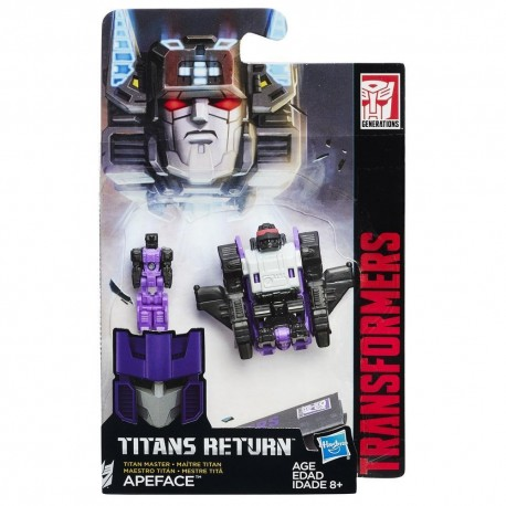 Transformers Generations Titans Return Titan Master Apeface
