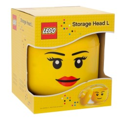 LEGO Iconic Storage Head Large - Girl
