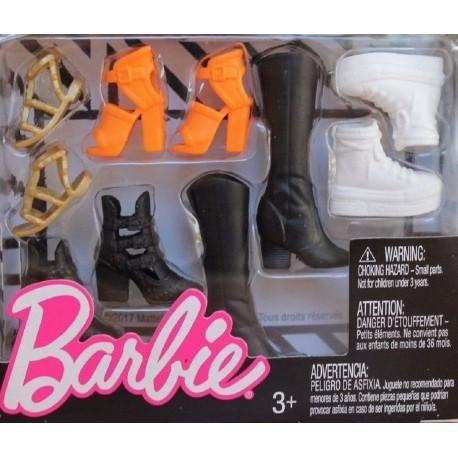 Barbie Accessories Original & Petite Doll Shoe Pack