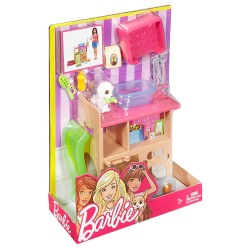 Barbie Pet Station & Puppy Playset