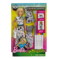 Barbie Crayola Color - In Fashion Dolls & Fashions