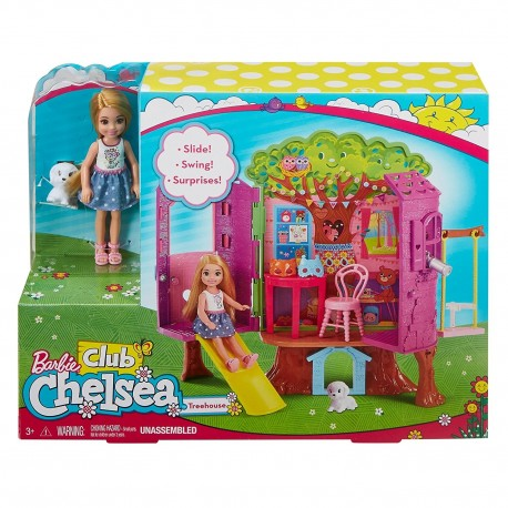 Barbie Club Chelsea Treehouse