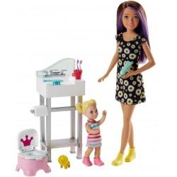 Barbie Skipper Babysitters Potty Training Playset