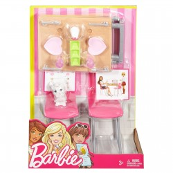 Barbie Dining Set & Kitten