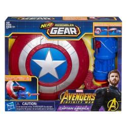Marvel Nerf Avengers: Infinity War Captain America Assembler Gear