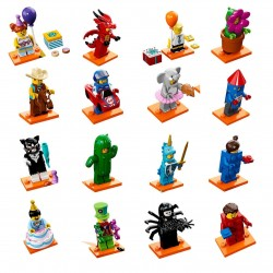 LEGO Collectible Minifigures 71021 Series 18 Complete Set of 16