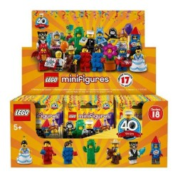 LEGO Collectible Minifigures 71021 Series 18 Complete Box of 60