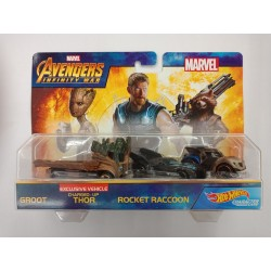 Hot Wheels Marvel Avengers Infinity War Vehicle 2