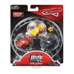 Disney Pixar Mini Racers Cars 3 Series