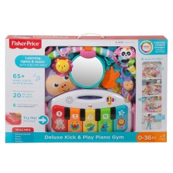 Fisher Price Deluxe Kick & Play Piano Gym (0+ Month)
