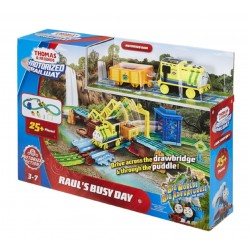 Thomas & Friends Motorized Railway Raul's Busy Day