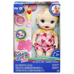 Baby Alive Super Snacks Snackin' Lily (Blonde)