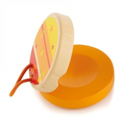 Hape Clickety-Clack Clapper (Orange)