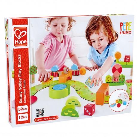 Hape Sunny Valley Play Blocks