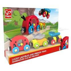 Hape Lucky Ladybug and Friends Train