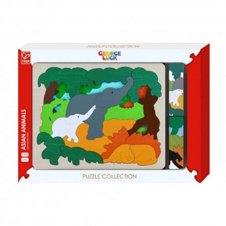 Hape Asian Animals
