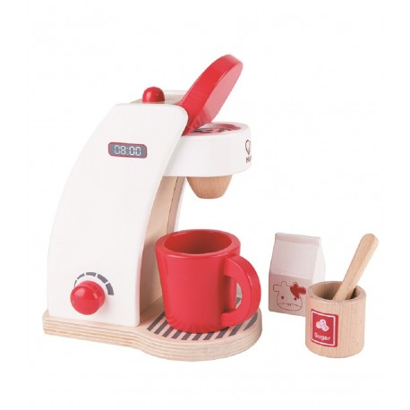 Hape Red Coffee Maker