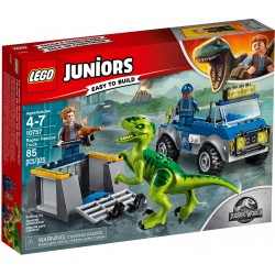 Lego Junior 10757 Raptor Rescue Truck