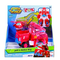 Super Wings Transforming Vehicle Jett's Robo Rig