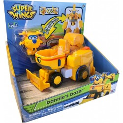 Super Wings Transforming Vehicle Donnie's Dozer