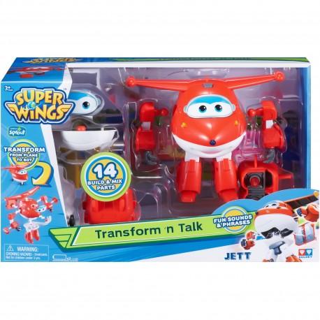 Super Wings Transform 'N Talk - Jett