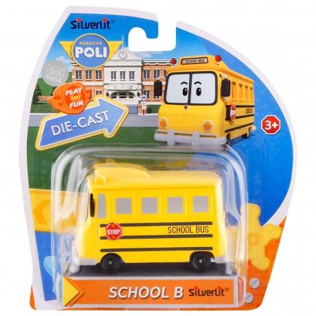Robocar Poli Diecast - School B