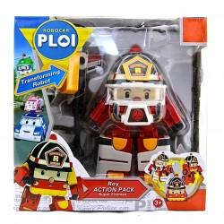 Robocar Poli - Roy Action Pack Super Fireman