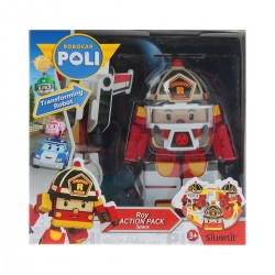 Robocar Poli - Roy Action Pack Space