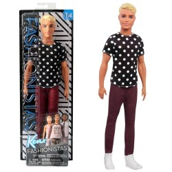 Barbie Ken Fashionista Doll 14 Black & White - Original