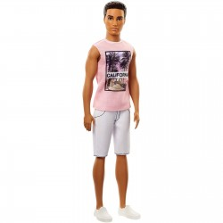 Barbie Ken Fashionista Doll 17 Cali Cool - Original