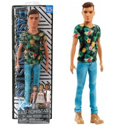 Barbie Ken Fashionista Doll 15 Tropical Vibes - Slim