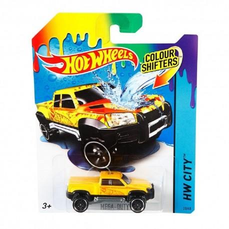 Hot Wheels Color Shifters Mega-Duty Vehicle