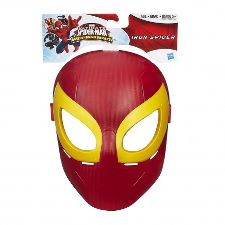 Marvel Ultimate Spider-Man Web Warriors - Iron Spider Mask