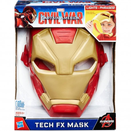 Marvel Captain America Civil War: Iron Man Tech FX Mask