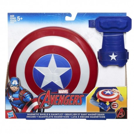 Marvel Captain America Magnetic Shield & Gauntlet