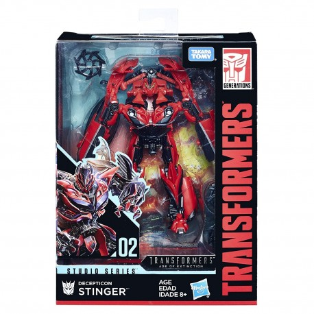 Transformers Studio Series 02 Deluxe Class Movie 3 Decepticon Stinger