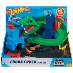 Hot Wheels City Cobra Crush Play Set