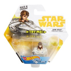 Hot Wheels Star Wars Han Solo - Millennium Falcon Battle Rollers
