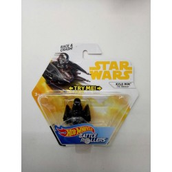Hot Wheels Star Wars Kylo Ren - TIE Silencer Battle Rollers